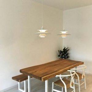 Kursi Makan Trembesi Desain Ala Cafe Dan Restoran