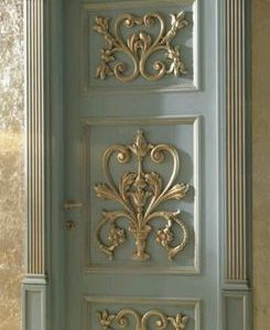 Model Pintu Kamar Ukiran Untuk Rumah Mewah Desain Klasik