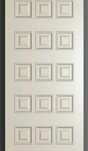 Pintu Kamar Minimalis Modern Motif Panel Kotak