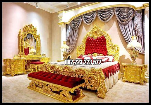 Kamar Tidur Set Model Klasik Mewah Royal Singapore