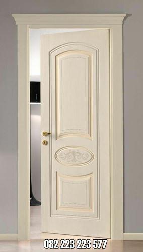 Pintu Kamar Cat Duco Desain Minimalis Elegan