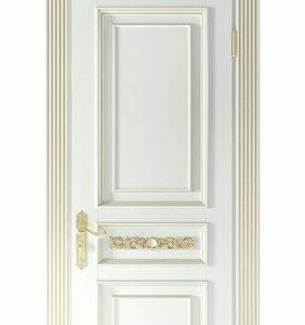 Pintu Ukir Kamar Mewah Cat Duco Warna Putih