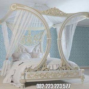 Tempat Tidur Eropa Mewah Ukir Klasik Jepara