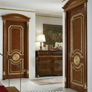 Kusen Pintu Kamar Kayu Jati Desain Klasik Mewah