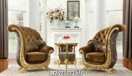 Sofa Mewah Klasik Untuk Ruang Santai Rumah