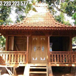 Rumah Kayu Jati Minimalis Harga Murah
