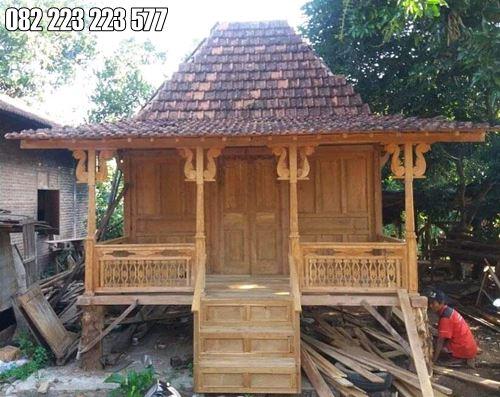 Rumah Kayu Jati Ukir Jepara Harga Murah