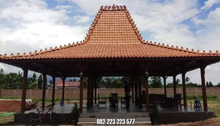 Rumah Kayu Joglo Pendopo Jati