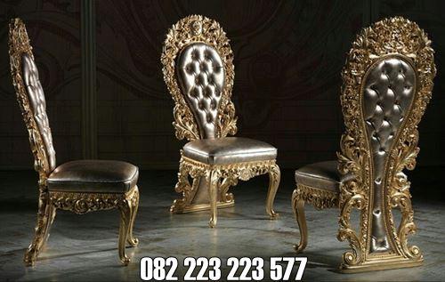 Kursi Makan Mewah King Royal Indonesian Ukir Jepara