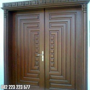 Motif Pintu Minimalis Kupu Tarung Untuk Kusen Utama Rumah