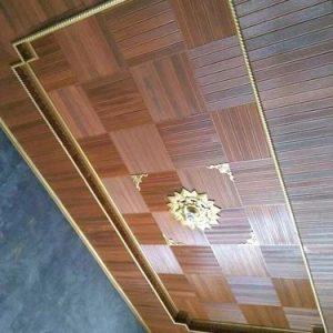 Plafon Minimalis kayu Jati Jepara Harga Murah
