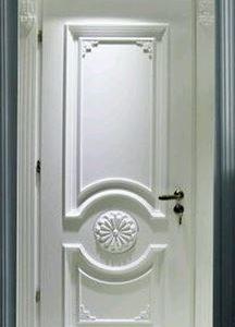 Model Pintu Kamar Putih Ukir Minimalis Untuk Rumah Modern