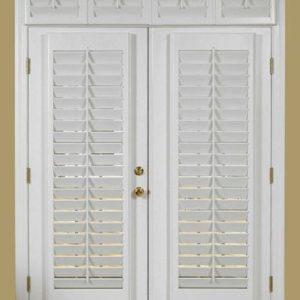 Pintu Rumah Kupu Tarung Cat Duco Warna Putih
