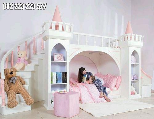 Tempat Tidur Tingkat Mewah Terbaru Model Istana