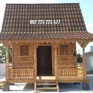 Rumah Kayu Jati Jepara Model Ukiran Klasik