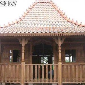 Rumah Kayu Murah Bali Ukiran Jepara