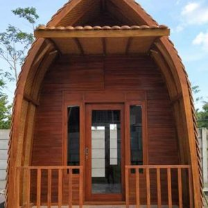Rumah Kayu Resto Atau Villa Dan Penginapan Model Terbaru