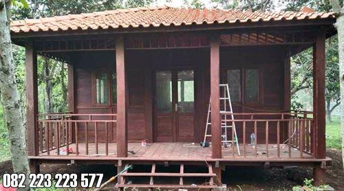 Rumah Kayu Murah Ukuran 5x6 Kamar Tidur 1