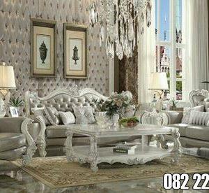 Sofa Ruang Tamu Klasik Mewah Ukir Jepara
