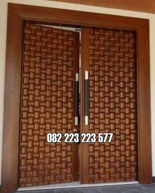 Pintu Rumah Terbaru Kupu Tarung Kayu Jati