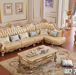 Sofa Tamu Rumah Mewah Model Royal Ukir Jepara