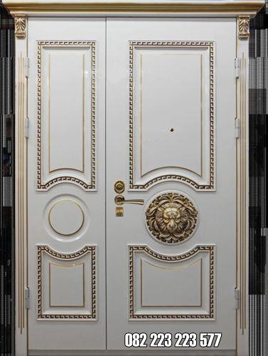 Kusen Pintu Besar Kecil Cat Duco Model Kupu Tarung