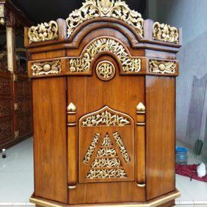 Mimbar Masjid Minimalis Juga Bisa Untuk Mushola